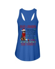 Rottweiler Grandpa Christmas Ladies Flowy Tank tile
