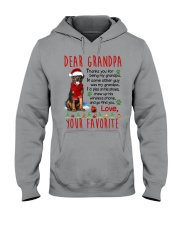 Rottweiler Grandpa Christmas Hooded Sweatshirt thumbnail