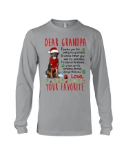 Rottweiler Grandpa Christmas Long Sleeve Tee tile