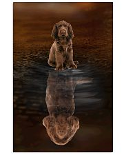 Sussex Spaniel Believe 11x17 Poster front