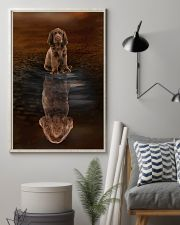 Sussex Spaniel Believe 11x17 Poster lifestyle-poster-1