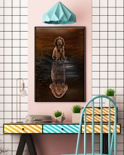 Sussex Spaniel Believe 11x17 Poster lifestyle-poster-6