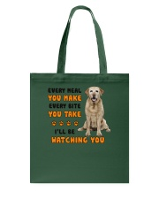 Labrador Retriever I Will Be Watching 1401  Tote Bag thumbnail