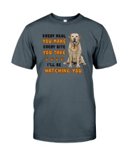 Labrador Retriever I Will Be Watching 1401  Classic T-Shirt thumbnail