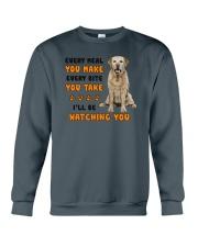 Labrador Retriever I Will Be Watching 1401  Crewneck Sweatshirt thumbnail
