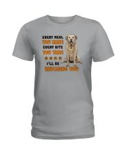 Labrador Retriever I Will Be Watching 1401  Ladies T-Shirt thumbnail