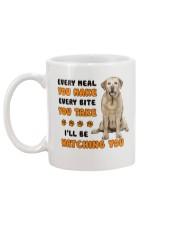 Labrador Retriever I Will Be Watching 1401  Mug back