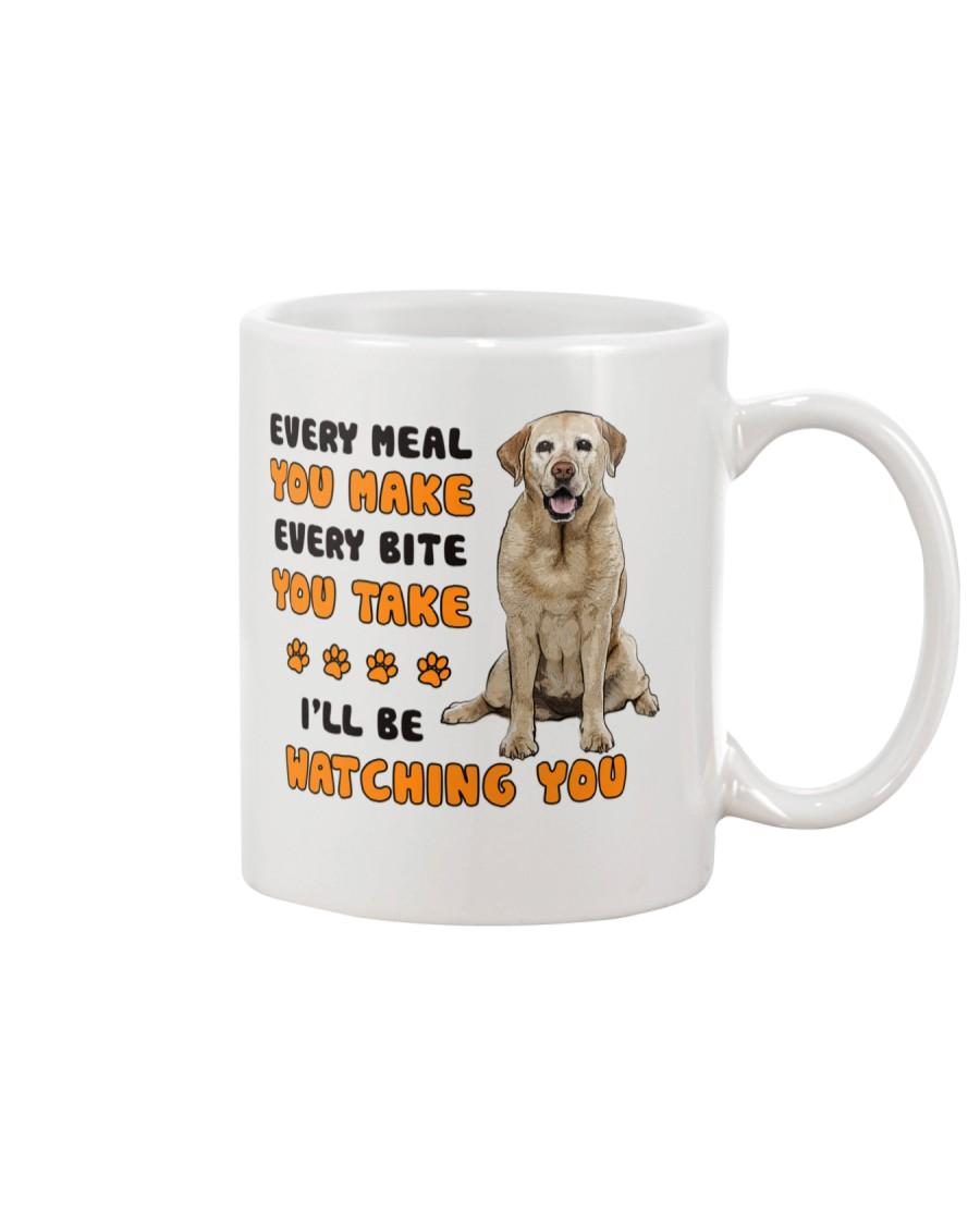 Labrador Retriever I Will Be Watching 1401  Mug