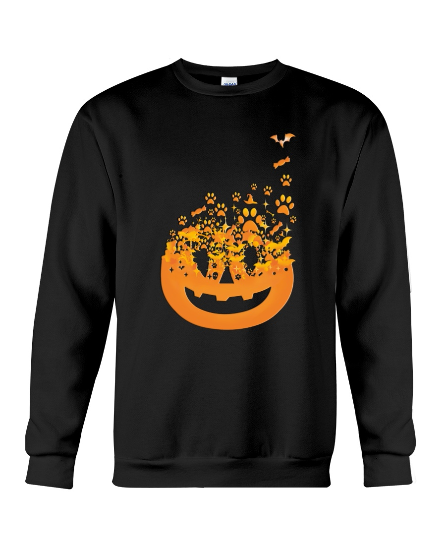 Dog Pumpkin Crewneck Sweatshirt