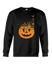 Dog Pumpkin Crewneck Sweatshirt front