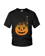 Dog Pumpkin Youth T-Shirt thumbnail