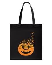 Dog Pumpkin Tote Bag thumbnail