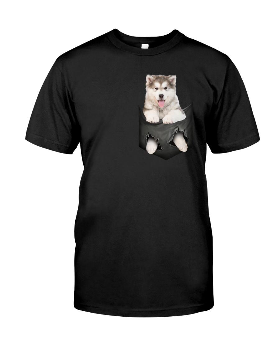 Alaskan Malamute Pocket 301101 Classic T-Shirt