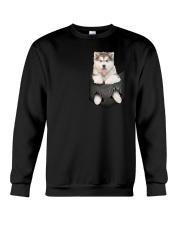 Alaskan Malamute Pocket 301101 Crewneck Sweatshirt thumbnail