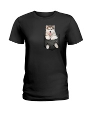 Alaskan Malamute Pocket 301101 Ladies T-Shirt thumbnail
