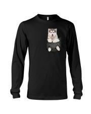 Alaskan Malamute Pocket 301101 Long Sleeve Tee thumbnail