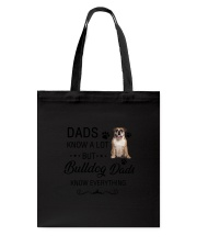 Bulldog Dads Know Everything 1805 Tote Bag thumbnail