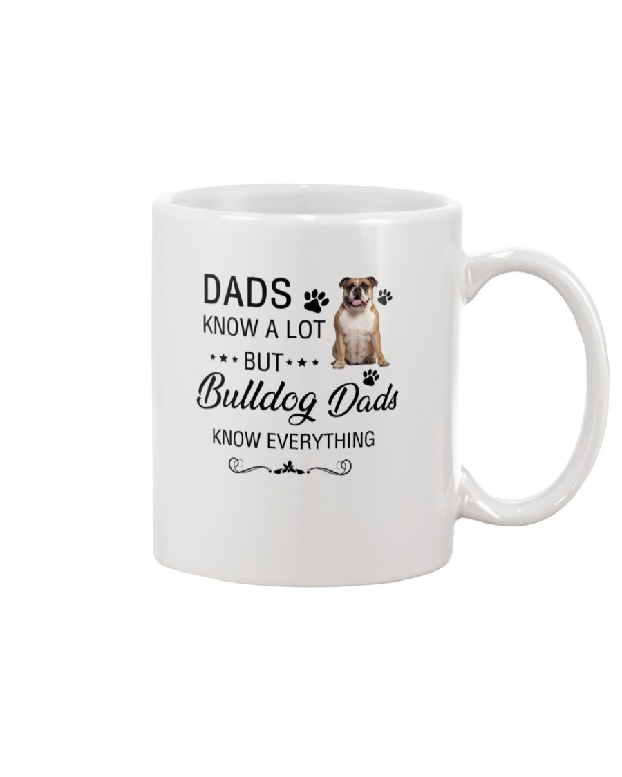 Bulldog Dads Know Everything 1805 Mug