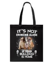 GAEA - Bulldog Alone - 0910 - B21 Tote Bag thumbnail
