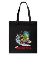 Beagle Merry Xmas Tote Bag thumbnail