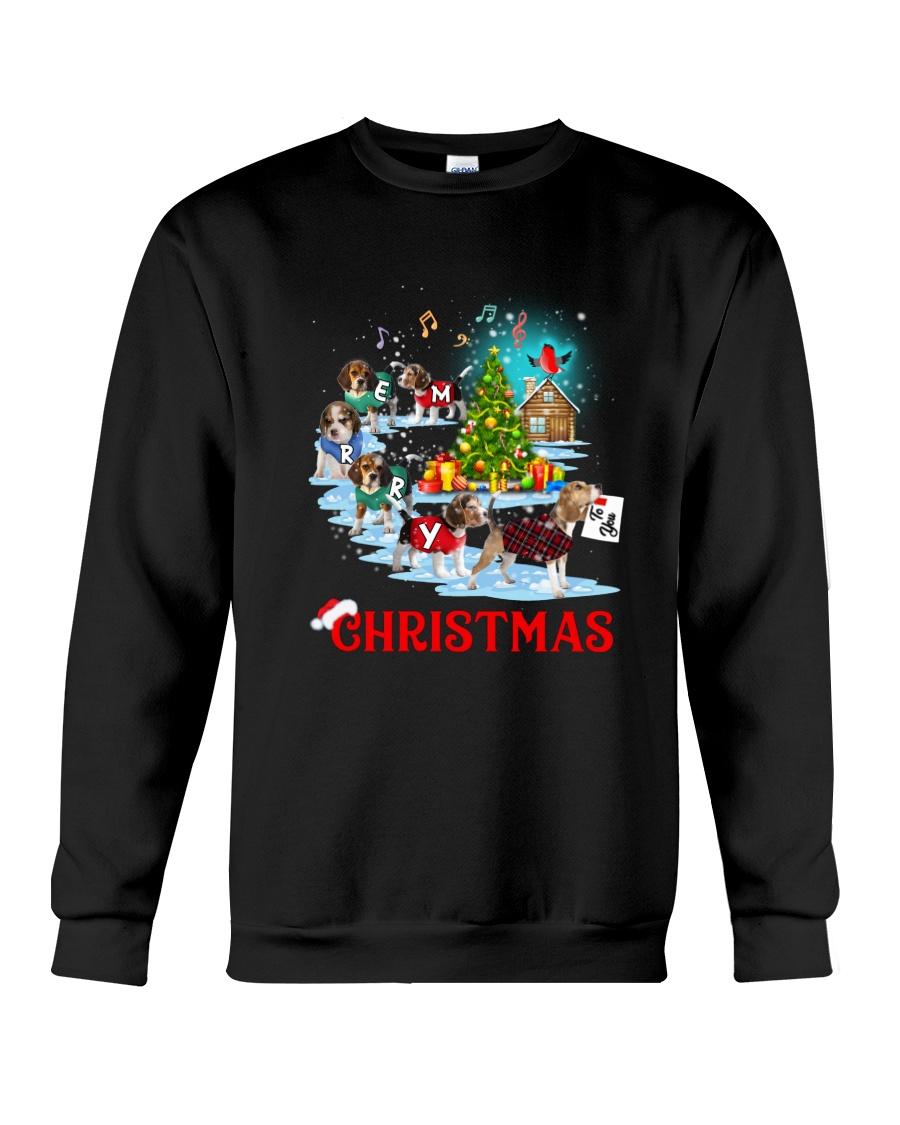 Beagle Merry Xmas Crewneck Sweatshirt