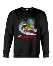 Beagle Merry Xmas Crewneck Sweatshirt front