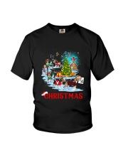 Beagle Merry Xmas Youth T-Shirt thumbnail