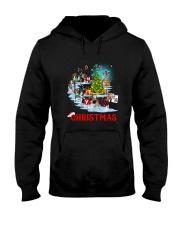 Beagle Merry Xmas Hooded Sweatshirt thumbnail