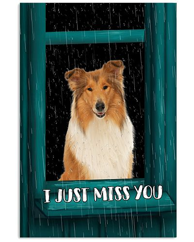 Collie I Just Miss You Poster 2501