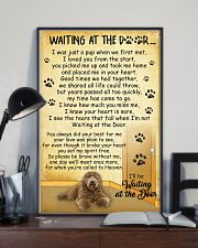 Labradoodle Waiting At The Door 2601 11x17 Poster lifestyle-poster-2