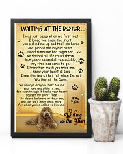 Labradoodle Waiting At The Door 2601 11x17 Poster lifestyle-poster-8