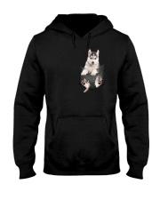 Siberian Husky Pocket  011201 Hooded Sweatshirt thumbnail