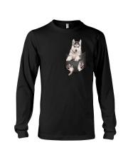 Siberian Husky Pocket  011201 Long Sleeve Tee thumbnail