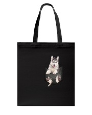 Siberian Husky Pocket  011201 Tote Bag thumbnail