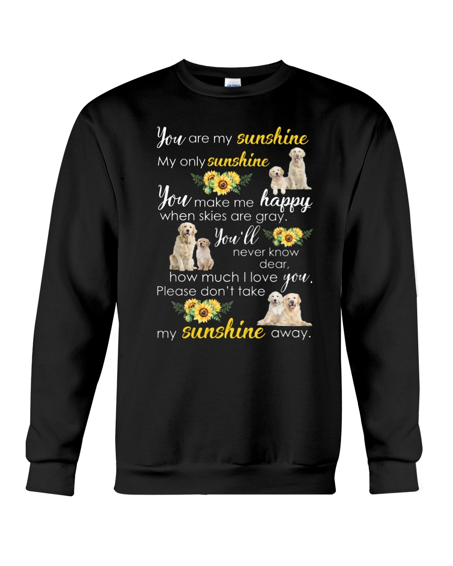 Golden Retriever My sunshine 1110 Crewneck Sweatshirt