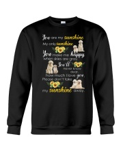 Golden Retriever My sunshine 1110 Crewneck Sweatshirt front