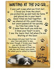 Havanese Waiting At The Door Poster 22012 11x17 Poster front