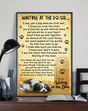 Havanese Waiting At The Door Poster 22012 11x17 Poster lifestyle-poster-2
