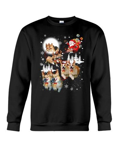 Pembroke Welsh Corgi Reindeers 0410