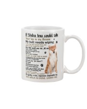 Shiba Inu If my dog could talk  Mug front