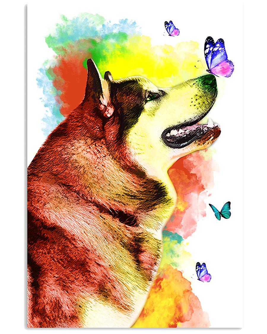 Alaskan-Malamute Colorful Poster 0102  11x17 Poster