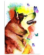 Alaskan-Malamute Colorful Poster 0102  11x17 Poster front