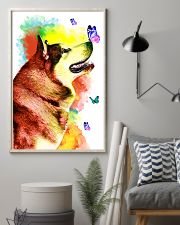 Alaskan-Malamute Colorful Poster 0102  11x17 Poster lifestyle-poster-1