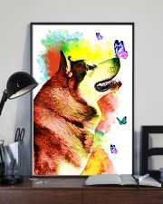 Alaskan-Malamute Colorful Poster 0102  11x17 Poster lifestyle-poster-2
