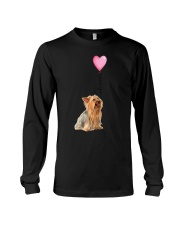 Yorkshire Terrier - Love you Long Sleeve Tee thumbnai