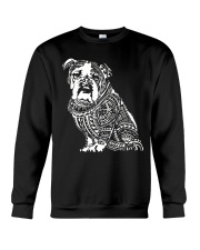 Bulldog Pattern 280218 Crewneck Sweatshirt tile