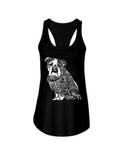 Bulldog Pattern 280218 Ladies Flowy Tank thumbnail