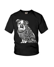 Bulldog Pattern 280218 Youth T-Shirt thumbnail