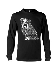 Bulldog Pattern 280218 Long Sleeve Tee thumbnail