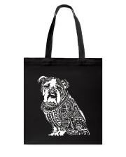 Bulldog Pattern 280218 Tote Bag thumbnail